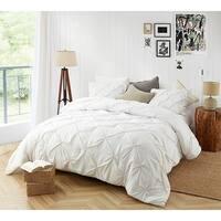BYB Farmhouse White Pin Tuck Comforter