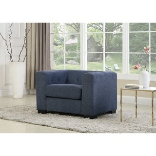 Chic Home Seto Chenille Upholstery Button-tufted Club Accent Chair