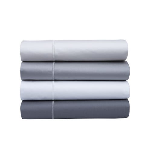 800 Thread Count 100% Cotton Sateen Pillowcase Set