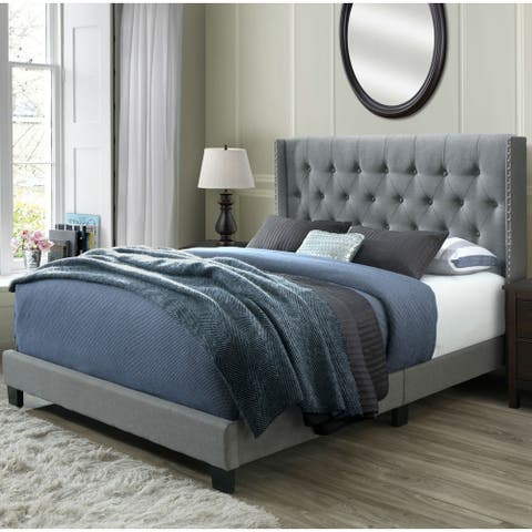 Bardy Queen Tufted Bed