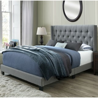 DG Casa Bardy Queen Tufted Bed