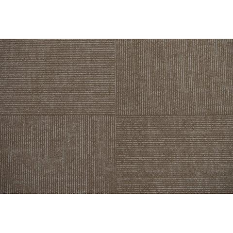 """Lawson Collection Carpet Tile in Tan - 24"""" x 24"""" (72sqft/case)"""