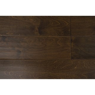 "Natalia Collection Engineered Hardwood in Coffee - 3/8"" x 5"" (32.81sqft/case) - 3/8"" x 5"""