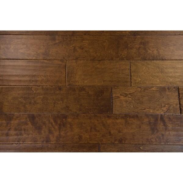 "Welles Collection Engineered Hardwood in Caramel - 3/8"" x 5"" (32.81sqft/case) - 3/8"" x 5"""