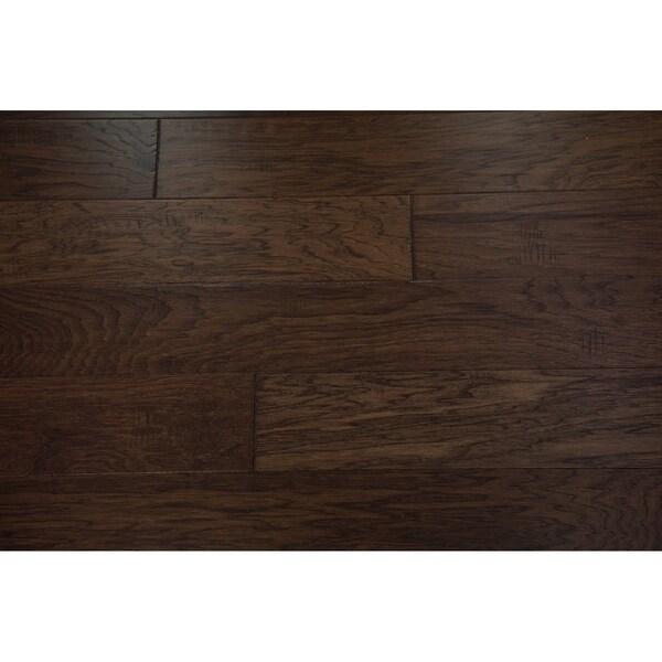 "Biscane Collection Engineered Hardwood in Espresso - 3/8"" x 5"" (33.08sqft/case) - 3/8"" x 5"""