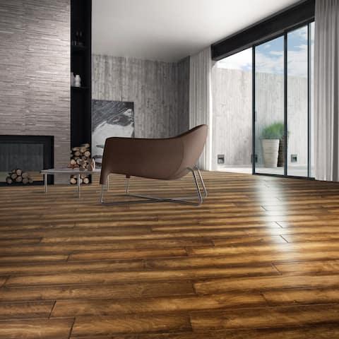 "Welles Collection Engineered Hardwood in Granola - 3/8"" x 5"" (32.81sqft/case) - 3/8"" x 5"""