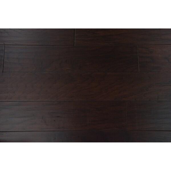 "Edmonton Collection Engineered Hardwood in Espresso - 3/8"" x 5"" (36.39sqft/case) - 3/8"" x 5"""