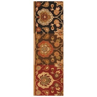 Link to Handmade Wool Runner (India) - 2'7 x 8' Similar Items in Rugs