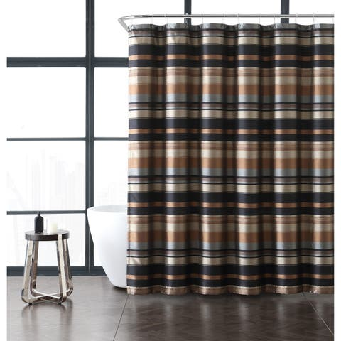 VCNY Home Madison Stripe Shower Curtain