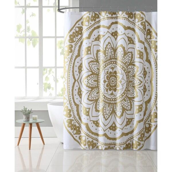 VCNY Home Karma Medallion Shower Curtain
