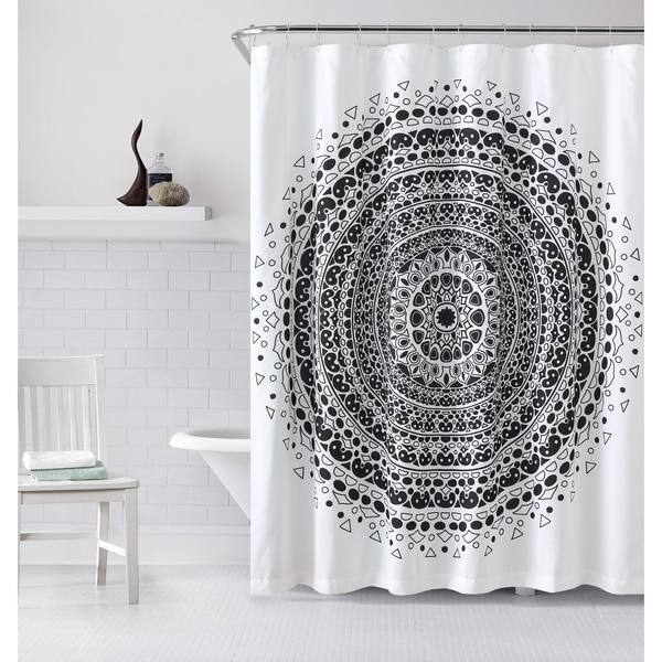 Shop VCNY Home Tessa Medallion Shower Curtain