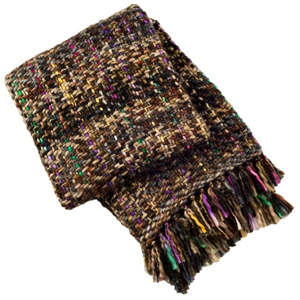 Safavieh Penny Knit Throw -Rosewood. Opens flyout.