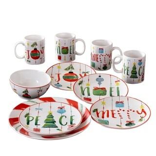 ornaments 16pc dinnerware set