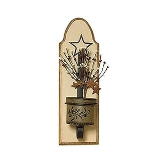 Primitive Jar Candle Holder/Sconce