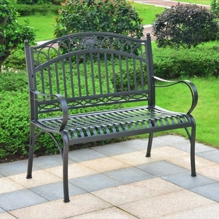 Segovia Iron 2-Seater Garden Bench