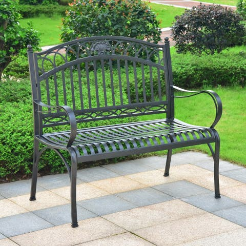 International Caravan Segovia 2-Seater Garden Bench