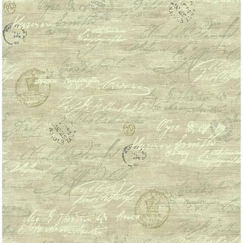 Nouveau Calligraphy Wallpaper