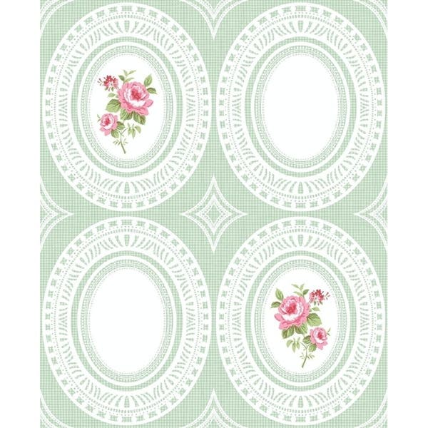 Shop Rose Cameo Wallpaper Free Shipping Today Overstock