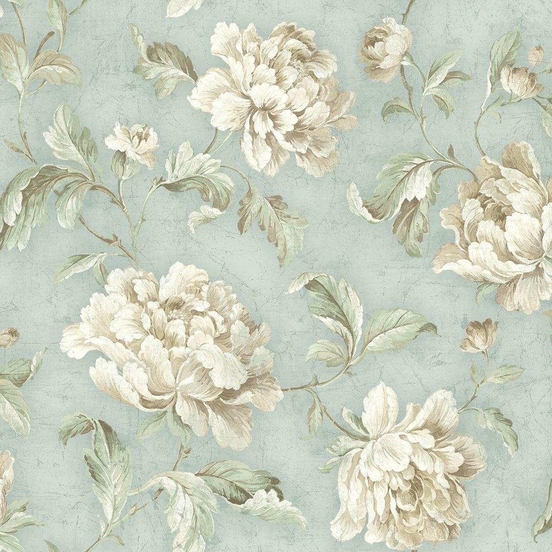 Shop Vintage Floral Trail Wallpaper On Sale Overstock 25575738