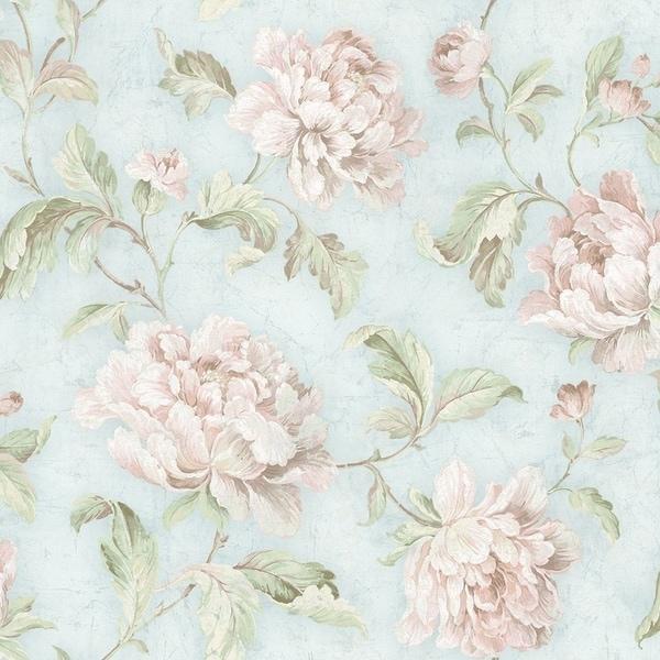 Vintage Floral Trail Wallpaper