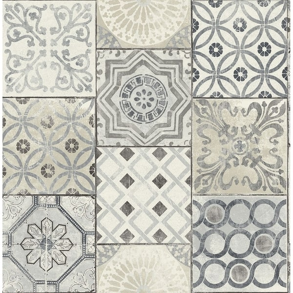 Shop Moroccan Tile Wallpaper Free Shipping Today