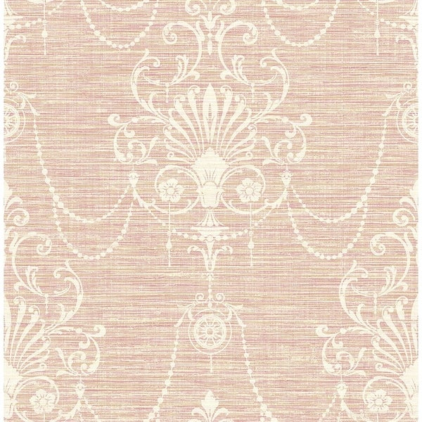 Linen and Pearls Wallpaper