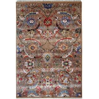 Handmade Khotan Wool Rug (India) - 8'7 x 12'