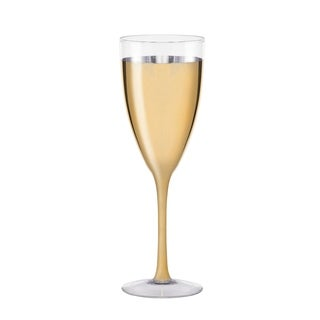 cannes gold set/2 champagne coupe
