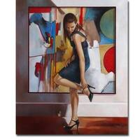 Unexpected by Ron Di Scenza Gallery Wrapped Canvas Giclee Art (24 in x 20 in, Ready to Hang)