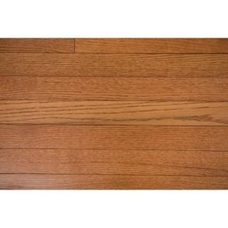 """Switzer Collection Solid Hardwood in Gunstock - 2-1/4"""" (24sqft/case)"""