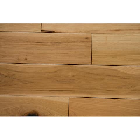 "Mosley Collection Solid Hardwood in Natural - 3/4"" x 5"" (22.6sqft/case) - 3/4"" x 5"""