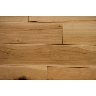 """Mosley Collection Solid Hardwood in Natural - 3/4"""" x 5"""" (22.6sqft/case) - 3/4"""" x 5"""""""
