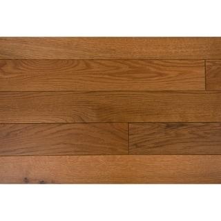 "Trubisky Collection Solid Hardwood in Gunstock - 3"" (24sqft/case)"