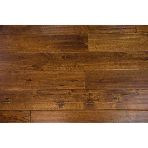 """Mosley Collection Solid Hardwood in Toffee - 3/4"""" x 4-3/4"""" (21.7sqft/case) - 3/4"""" x 4-3/4"""""""