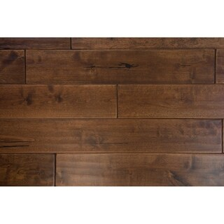 """Wenden Collection Solid Hardwood in Chocolate - 3/4"""" x 4-3/4"""" (22.01sqft/case) - 3/4"""" x 4-3/4"""""""