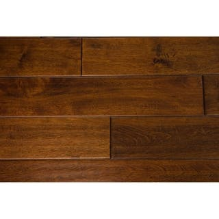 "Mosley Collection Solid Hardwood in Caramel - 3/4"" x 4-3/4"" (21.7sqft/case) - 3/4"" x 4-3/4"""