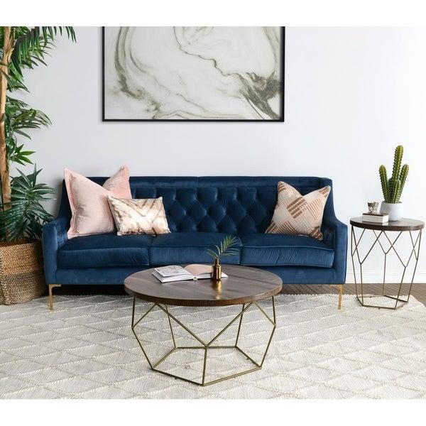 "Nolan 82"" Tufted Sofa by Kosas Home"