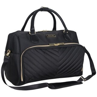 Kenneth Cole Reaction 'Chelsea' 16in Polyester-Twill Top Zip 13in Laptop Tote Case / Boarding Duffel Bag