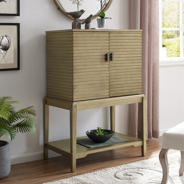 The Curated Nomad Felton Bar Storage Cabinet