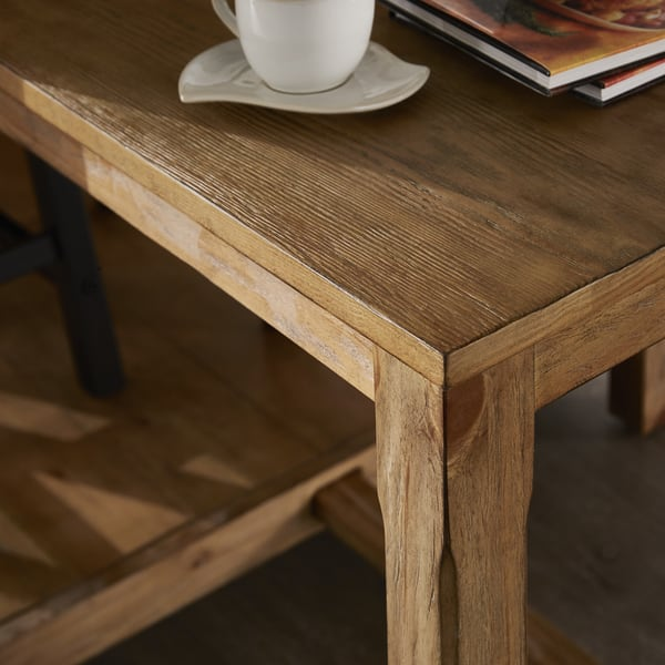 Shop Tali Reclaimed Wood Extendable Kitchen Island by ...