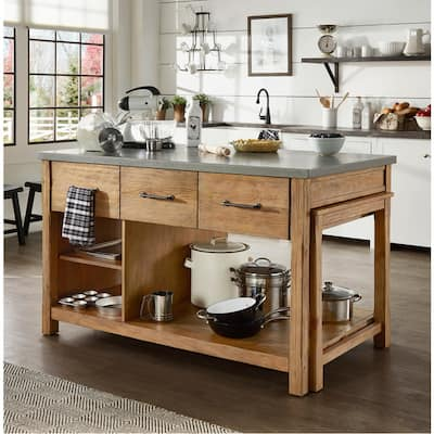 Buy Grey Kitchen Islands Online at Overstock | Our Best ...