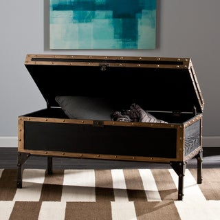 Carbon Loft Blodgett Travel Trunk Cocktail/ Coffee Table (As Is Item)