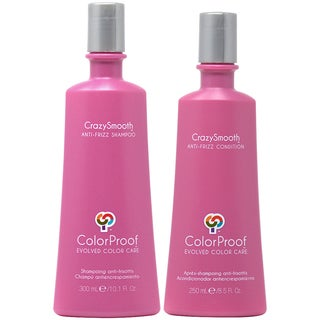 ColorProof CrazySmooth 10.1-ounce Anti-Frizz Shampoo & 8.5-ounce Conditioner