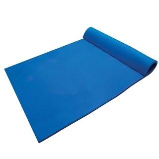 California Sun Deluxe Oversized 2-Person Unsinkable Triple Ply Foam Cushion Pool Float - Ocean Blue
