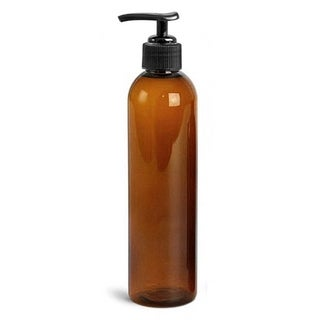 Royal Massage 8-ounce Empty Massage Oil Bottle with Pump