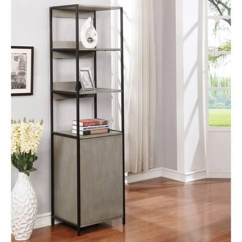 Furniture of America Soby Contemporary 3-shelf Storage Bookshelf