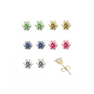Womens Watch Set 5 Faux Bands 5 Crystal Earrings