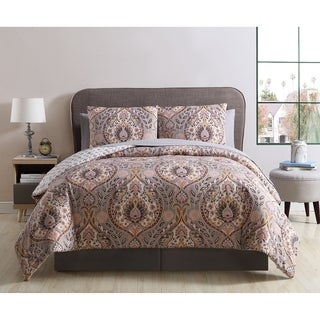 VCNY Home Brynn Damask Bed-in-a-Bag Comforter Set