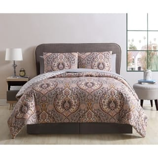 Vcny Home Brynn Damask Bed In A Bag Comforter Set