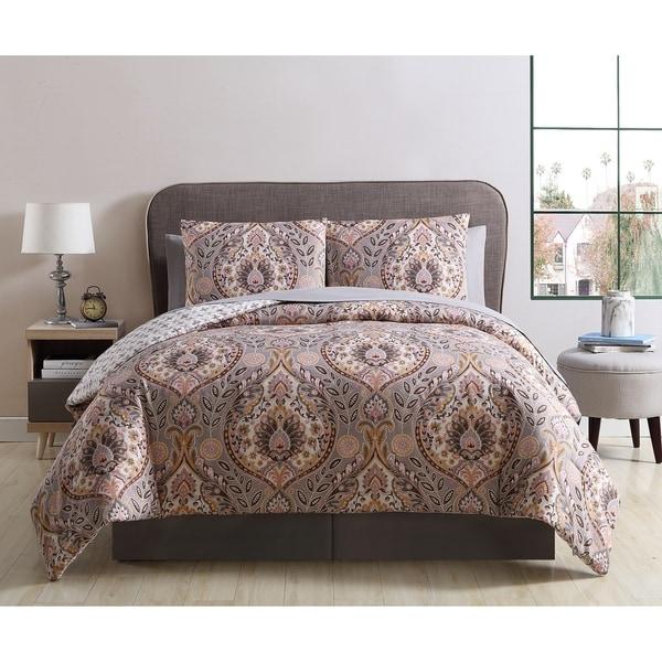 Copper Grove Dorogi Damask Bed in a Bag Comforter Set